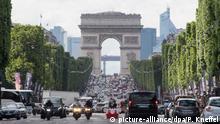 Christo will Pariser Triumphbogen verhüllen