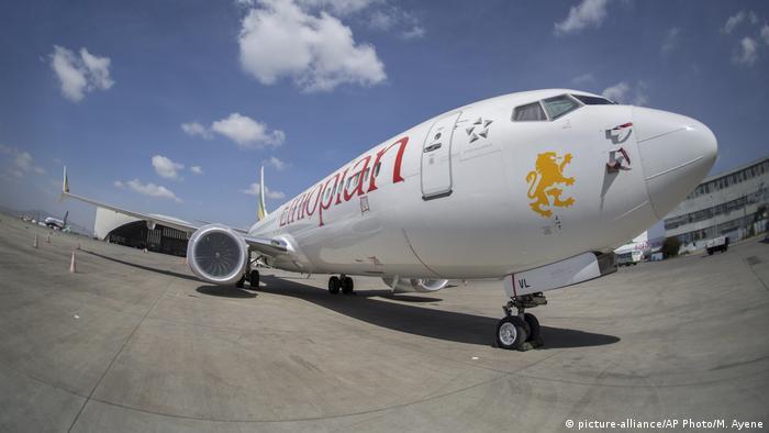 Äthiopian Airlines (picture-alliance/AP Photo/M. Ayene)
