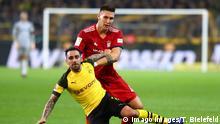 Fußball Bundesliga Borussia Dortmund - FC Bayern München Paco Alcacer und Niklas Süle