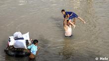 Titel: Hochwasser im Iran Beschreibung: Die Gemeinde Bamdezh in der Provinz Chuzestan. Lizenz: Mehr