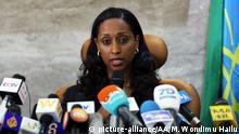 Äthiopien Transportministerin Dagmawit Moges