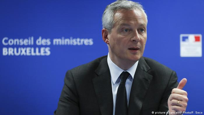 Frankreich Bruno Le Maire Wirtschafts- und Finanzminister
