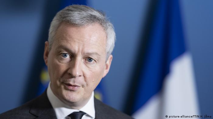 French Finance Minister Bruno Le Maire (picture-alliance/TT/N.H. Jåma)
