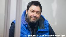 Ukraine Kirill Vyshinsky vor Gericht