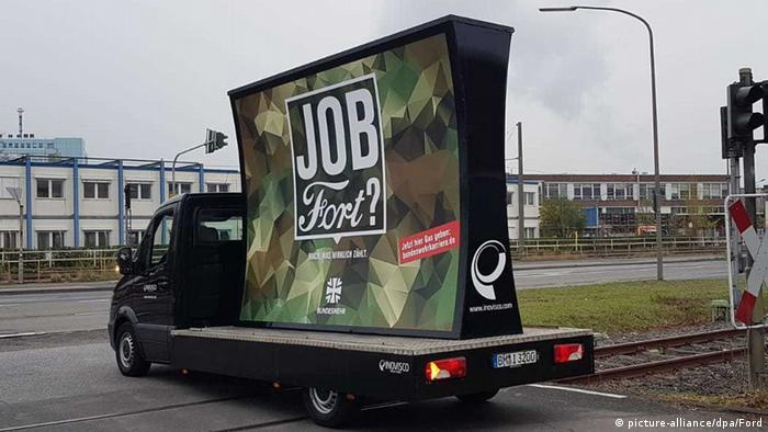 04f8c93252 Ford angry with German Bundeswehr′s recruitment drive in Cologne ...