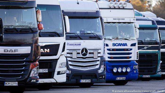 Єврокомісія складатиме та публікуватиме список сертифікованих майданчиків для паркування вантажівок