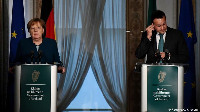 Irland Dublin | Angela Merkel, Bundeskanzlerin & Leo Varadkar, Premierminister