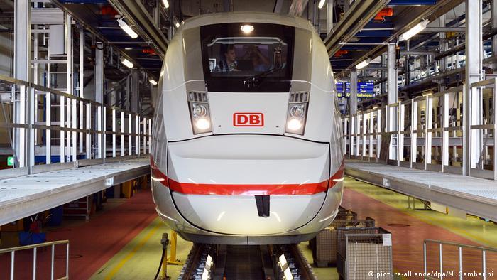 Deutschland 2016 | ICE 4 im Bahnbetriebswerk