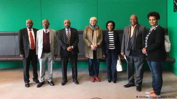 Äthiopien Deutsche Botschaft Gäste verschiedener äthiopischer Parteien