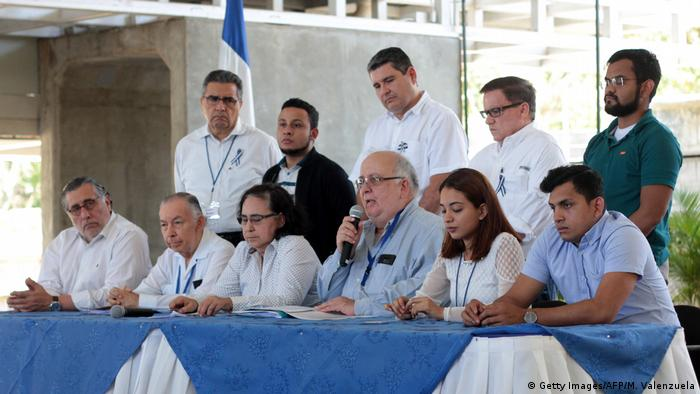 Nicaragua Managua | Dialog Regierung - Opposition | Jose Pallais (Getty Images/AFP/M. Valenzuela)