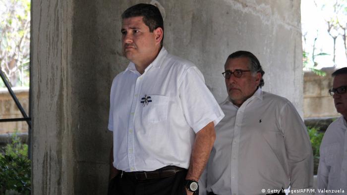 Juan Sebastián Chamorro ist ein führender Vertreter der Oppositionspartei Bürgerallianz für Gerechtigkeit und Demokratie