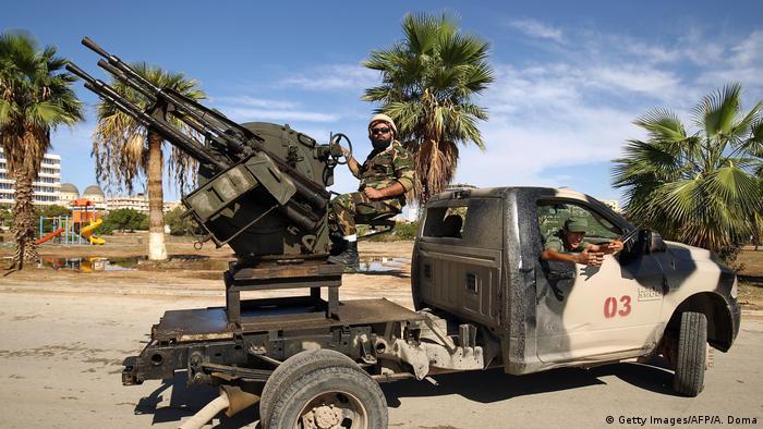 Бойовики Лівійської національної армії генерала Халіфи Хафтара