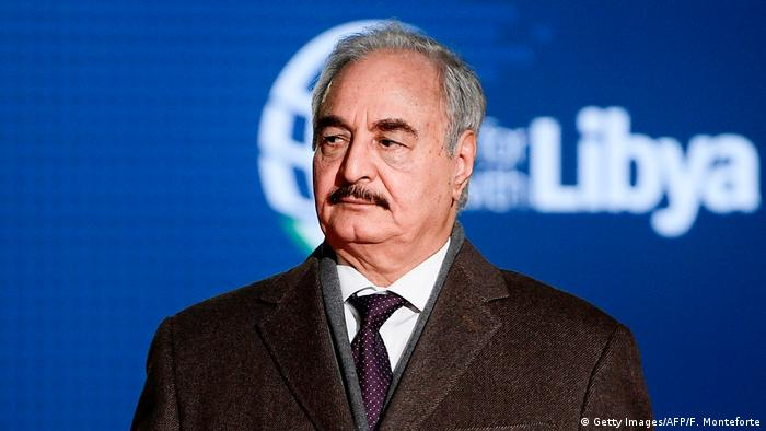 Khalifa Haftar (Getty Images/AFP/F. Monteforte)
