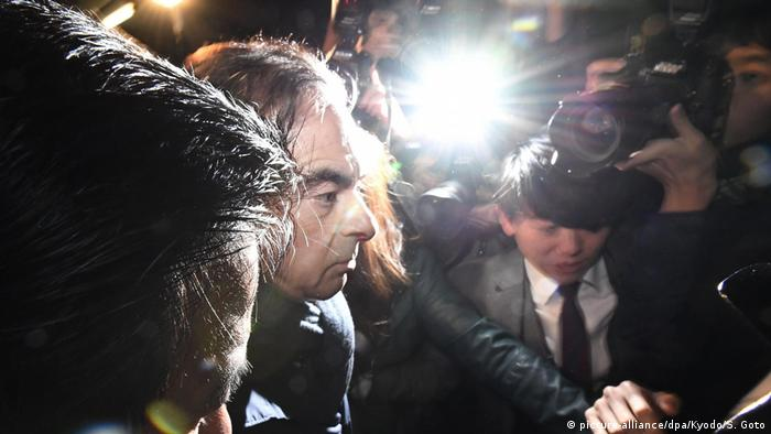 Carlos Ghosn (picture-alliance/dpa/Kyodo/S. Goto)