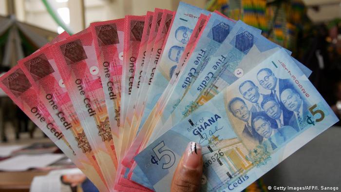 Ghana neue Währung Symbolbild