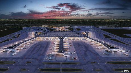 Istanbul Airport Luftaufnahme (IGA )