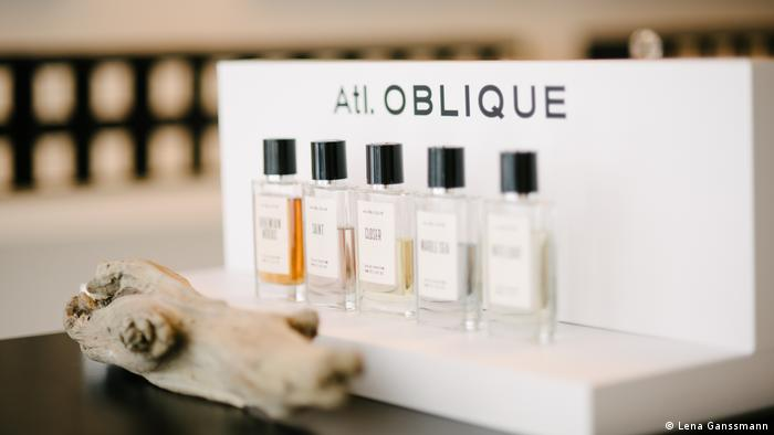 Lombardo developed the fragrances in Grasse, France, considered the world capital of perfume and the setting of Patrick Süskind's novel, Perfume (Lena Ganssmann)