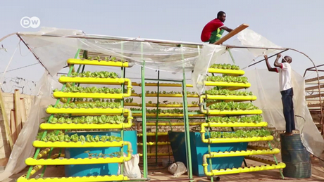 Eco Africa — A pyramid to grow food on in Burkina Faso