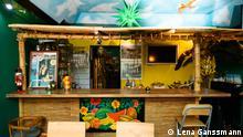 die Theke im jamaikanischen Restaurant Ya-Man