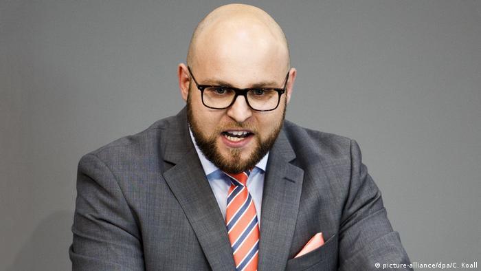 Депутат бундестага от партии АдГ Маркус Фронмайер