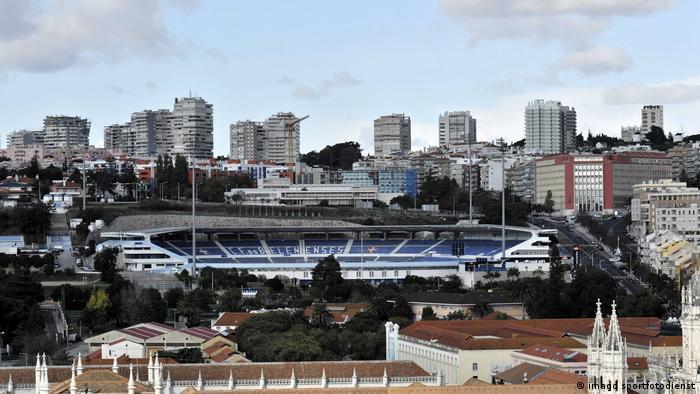 Das Estadio do Restelo in Lissabon (imago sportfotodienst)