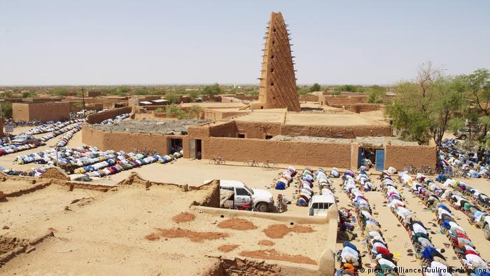 Niger Agadez Innenstadt (picture-alliance/Tuul/robertharding)