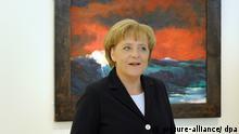 Bundeskanzlerin Merkel besucht Nolde-Stiftung