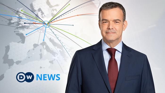 DW News Moderator Nicolas Spicer (Artikelbild)