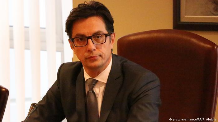 Nord-Mazedonien Präsidentschaftskandidat Stevo Pendarovski