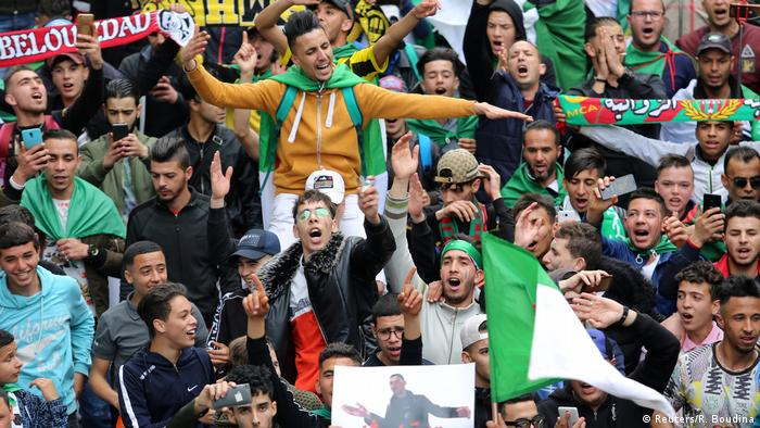 Algerien Algier Proteste gegen Regierung (Reuters/R. Boudina)