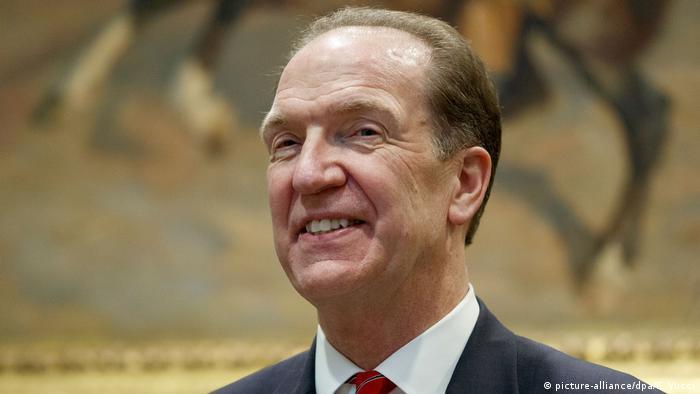 David Malpass zum neuen Präsidenten der Weltbank bestimmt (picture-alliance/dpa/E. Vucci)