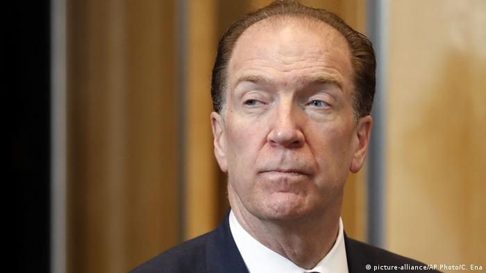 David Malpass zum neuen Präsidenten der Weltbank bestimmt (picture-alliance/AP Photo/C. Ena)