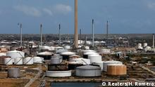 FILE PHOTO: Isla Oil Refinery PDVSA terminal is seen in Willemstad on the island of Curacao, February 22, 2019. REUTERS/Henry Romero/File Photo