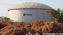 Venezuela Öltank von PDVSA in Lagunillas