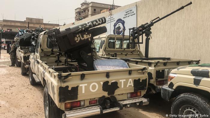 Libyen LNA-Kämpfer greifen Tripoli ein