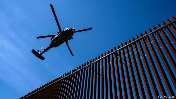 USA Präsident Trump besucht die amerikanisch-mexikanische Grenze in Calexico