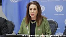 Präsidentin der UN-Generalversammlung Maria Fernanda Espinosa
