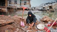 Iran Überschwemmungen in Poldokhtar