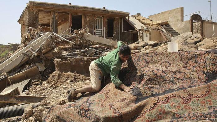 Iran Überschwemmungen in Poldokhtar (Irna)
