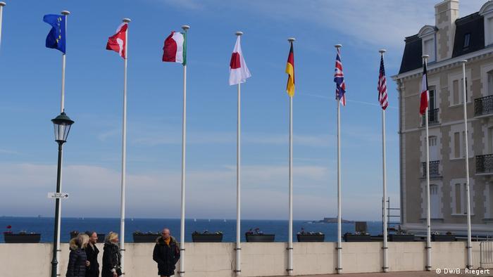 Frankreich G7 Außenministertreffen Dinard
