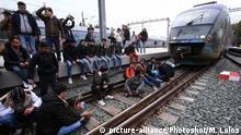 Griechenland Flüchtlinge Protest in Athen