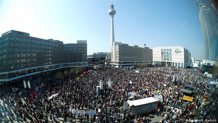 Berlin protests against predatory housing costs