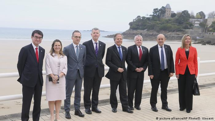 Frankreich G7 Außenministertreffen in Dinard