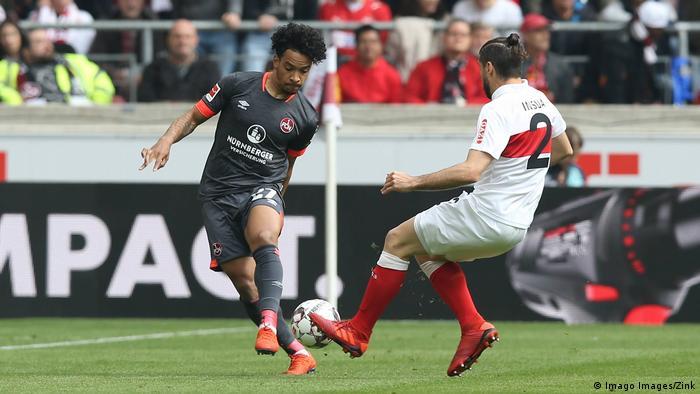 Fußball Bundesliga 1. FC Nürnberg - VfB Stuttgart (Imago Images/Zink)