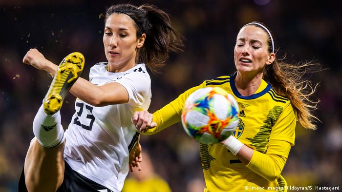 Gelungener Wm Test Fur Dfb Frauen Sport Dw 06 04 2019