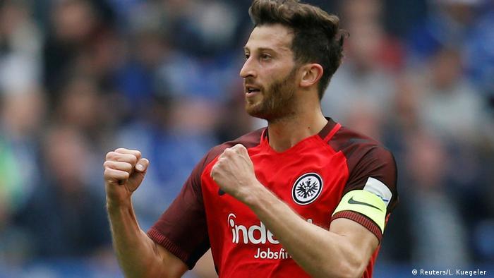 Eintracht Frankfurt / David Abraham (Argentina).