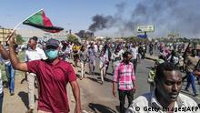 Sudan Anti-Regierungsproteste in Khartum