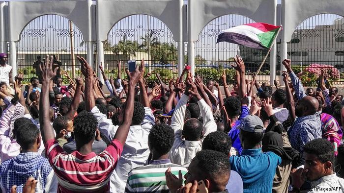 Sudan Anti-Regierungsproteste in Khartum
