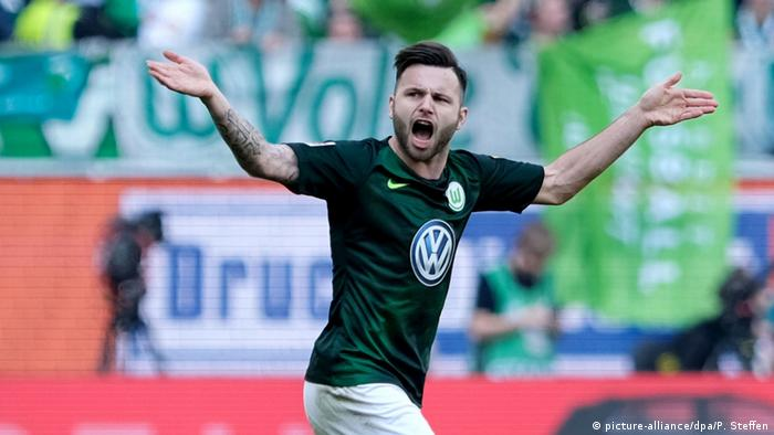 Fussball Bundesliga VfL Wolfsburg vs. Hannover 96 (picture-alliance/dpa/P. Steffen)