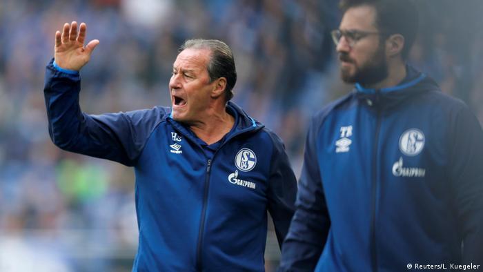 Bundesliga - Schalke 04 v Eintracht Frankfurt (Reuters/L. Kuegeler)